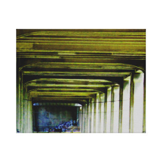 Bridge up close canvas print