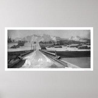 Bridge View Seward, Alaska 1910 Print