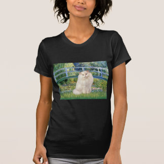 Bridge - White Persian cat T-Shirt