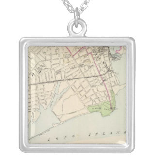 Bridgeport, south silver plated necklace