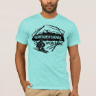 Bridger Bowl Montana guys ski logo tee