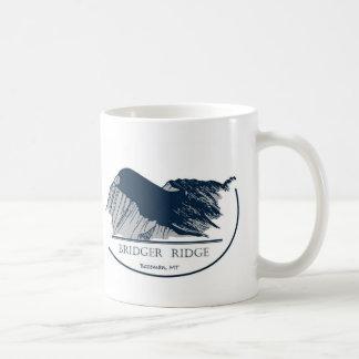 Bridger Ridge Basic White Mug