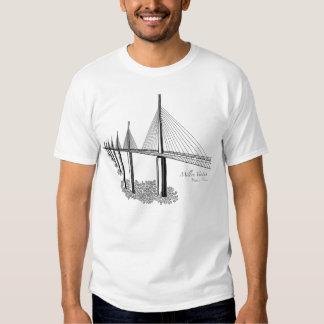 Bridges: Millau Viaduct, France T-shirts