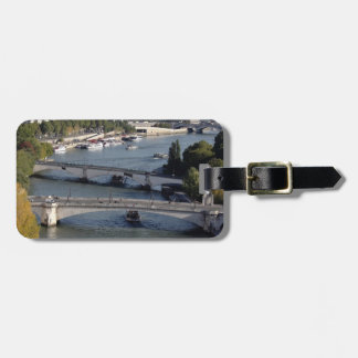 Bridges of Paris Bag Tag