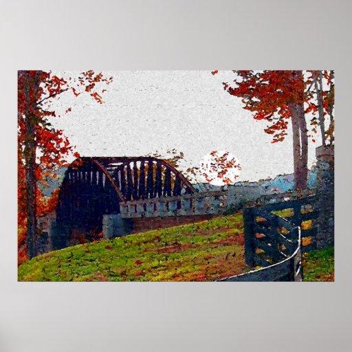 Bridges Of Reflection Poster