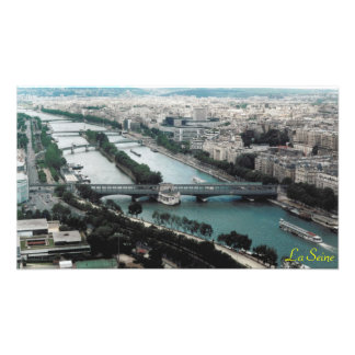 Bridges over the River Seine Photo Print