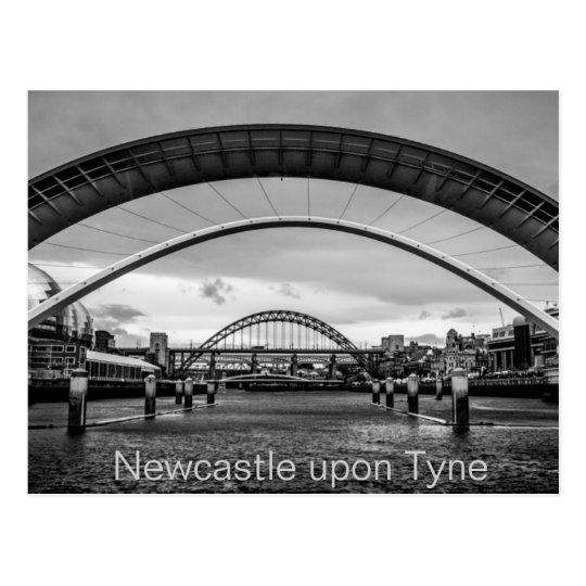 Bridges over The River Tyne, Newcastle Postcard