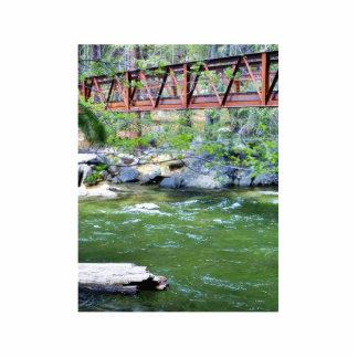 Bridges Streams Rivers Leaves Acrylic Cut Out
