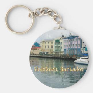 Bridgetown, Barbados Key Ring