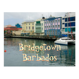 Bridgetown, Barbados Postcard