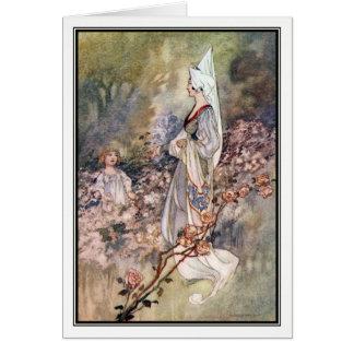 Bridget's Fairies by Charles Robinson Card
