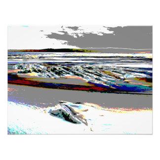 Bridgewater N.S. Riser's Beach Abstract print