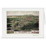 Bridgton, ME Panoramic Map - 1888 Cards