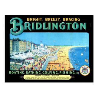 Bridlington by the Sea Post Card