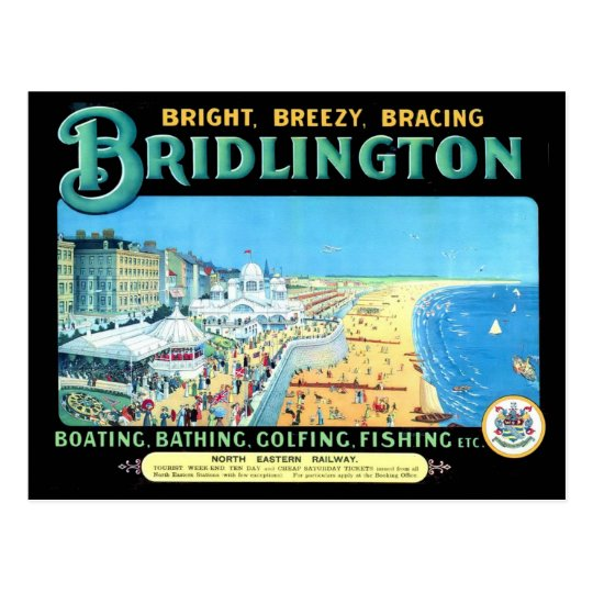 Bridlington by the Sea Postcard