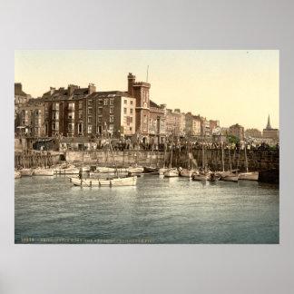 Bridlington Harbour I, Yorkshire, England Poster