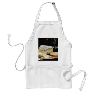 Brie Cheese And Crackers Standard Apron