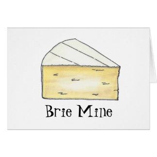 Brie Mine Card