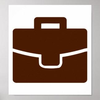 Briefcase bag poster