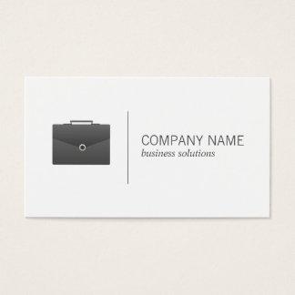 Briefcase (black) | Business Business Card