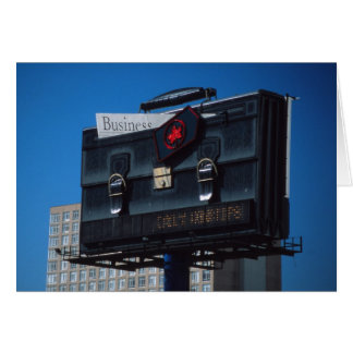 Briefcase card