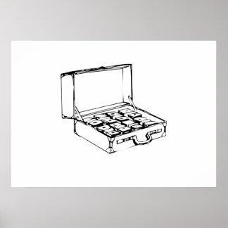 Briefcase of Cash Print