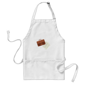 Briefcase & Papers Standard Apron