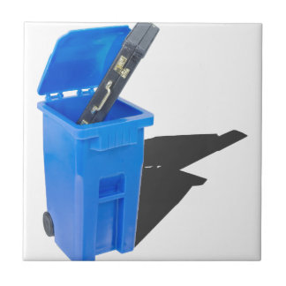 BriefcaseInRecyclingBin061315.png Small Square Tile