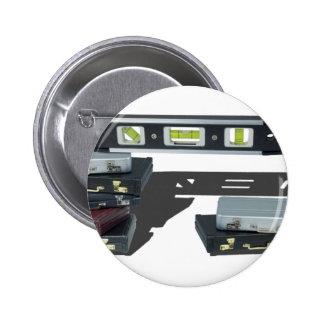 BriefcaseStraightenedLevel061315.png 6 Cm Round Badge