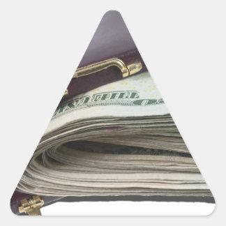 BriefcaseWadMoney011813.png Triangle Sticker
