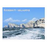 briefkaart voor Kornati, Kroatië Postcard