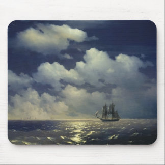 Brig Mercury after the Victory over Turkish Ships Mouse Mat