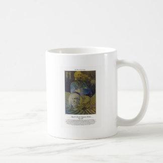 Brigadier Gen. Benjamin Harrison Citizen Soldier Classic White Coffee Mug