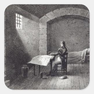 Brigadier-General Bonaparte in prison Square Sticker