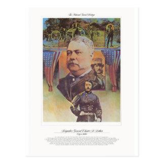 Brigadier General Chester Arthur Citizen Soldier Postcard