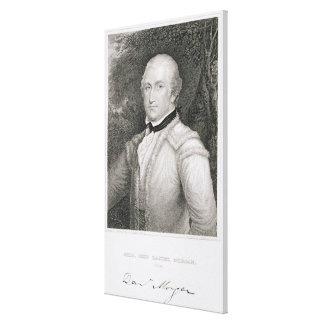 Brigadier General Daniel Morgan 1736-1802 engrav Stretched Canvas Prints