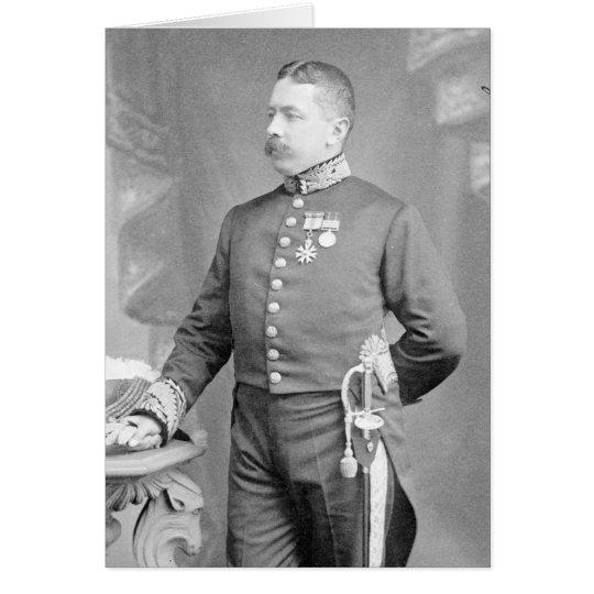 Brigadier-General Sir Percy Molesworth Sykes Card