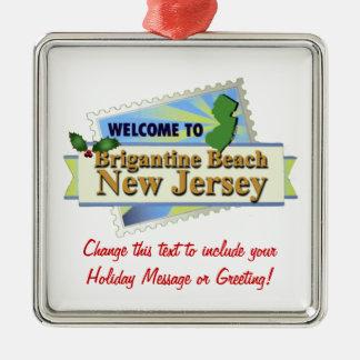 Brigantine Beach NJ Christmas Ornament