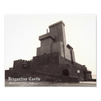 Brigantine Castle Reproduction Photo