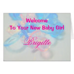 Brigette Greeting Card