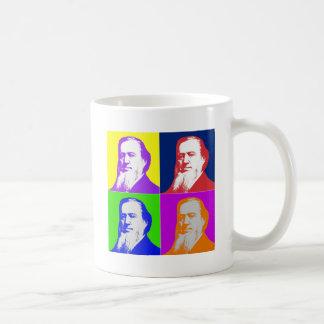 Brigham Young Pop Art Classic White Coffee Mug