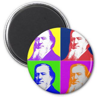 Brigham Young Pop Art Magnet