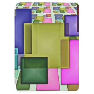 Bright 3-D Geometric Abstract iPad Air Cover