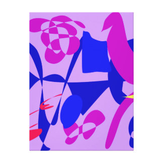 Bright 8 stretched canvas prints