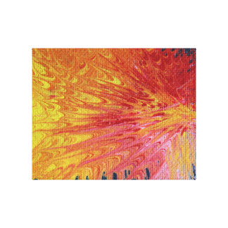 Bright Abstract Art, Colour Delight 2012103 Gallery Wrapped Canvas