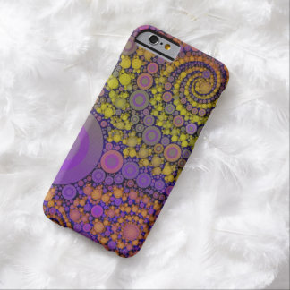 Bright Abstract Barely There iPhone 6 Case