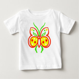 Bright Abstract Butterfly Toddler's Tshirt