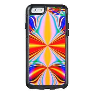 Bright Abstract Design Blue Red And Green OtterBox iPhone 6/6s Case