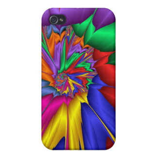 Bright abstract iPhone 4 cover