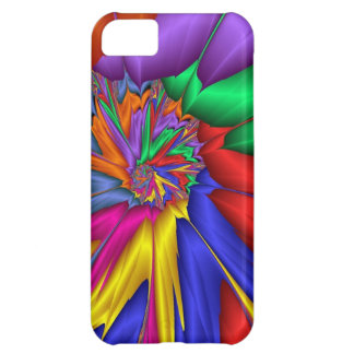 Bright abstract iPhone 5C case
